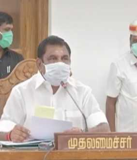 tamilnadu cm  palanisamy press meet after meeting