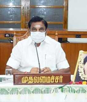 tamilnadu cm palanisamy discussion with doctors team for tomorrow