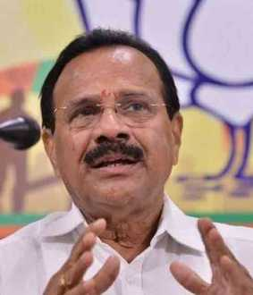 sadananda gowda breaks karnataka government rule