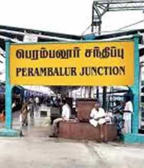 Perambalur is a non-corona district