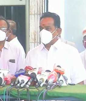 tamilnadu transport minister press meet at chennai