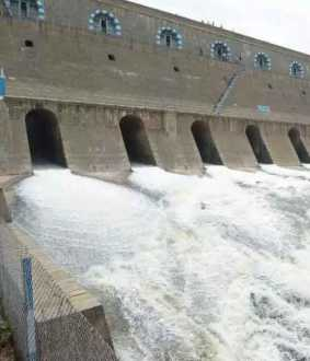 salem district mettur dam water level