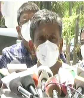 j anbazhagan coronavirus hospital doctor press meet