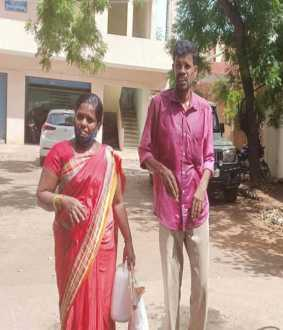 cuddalore district virudhachalam husband and wife deputy collector office