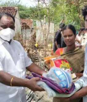 DMK official who helps before government assistance goes; Seerkazhi Killairaveendran who made the AIADMK think