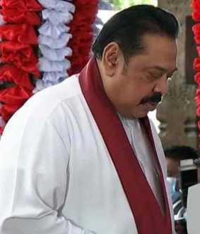 srilankan 9 th cabinet sworn in