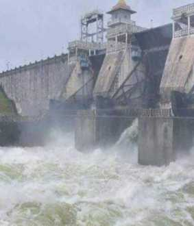 karnataka dams water released