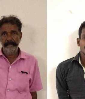 Father and teenager arrested for molesting girl