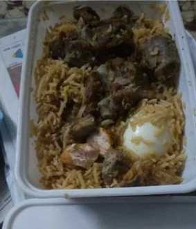 Anjapar Hotel Mutton Biryani issue