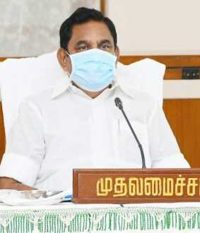 tamilnadu cm palanisamy discussion with doctors team and district collectors