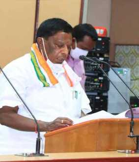 Puducherry Chief Minister Narayanasamy interview!