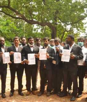 VCK Lawyer Team Petition to chennai additional commissioner