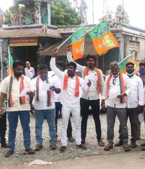 vizhupuram vaanur bjp and vck issue