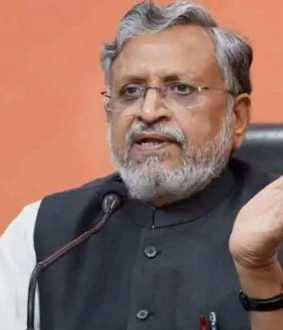 sushil modi blames lalu prasad for bargaining with mlas
