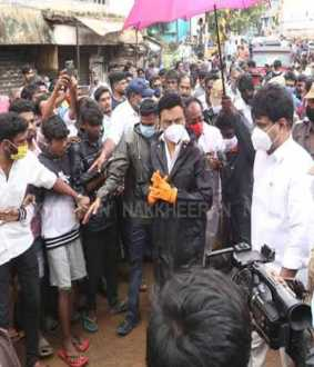 MK Stalin's in Saidapet (Pictures)