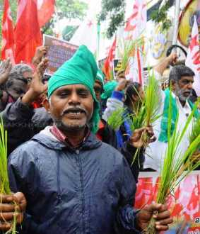 Communist party support farmers chennai saidapet chinnamalai