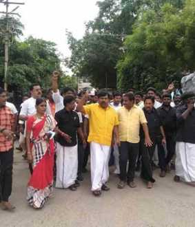 Virdhunagar admk party people police arrest