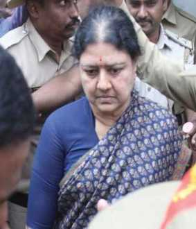 Sasikala admitted in govt hospital