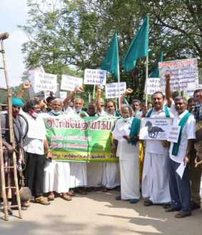 Rally on behalf of Tamil Nadu palm wine association ...