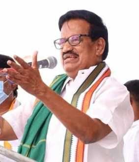 CONGRESS PARTY LEADER KS ALAGIRI PRESSMEET