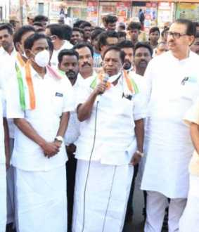congress leader, former chief minister narayanasamy challenge with union home minister