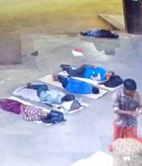 Woman passes away in koyambedu bus stand