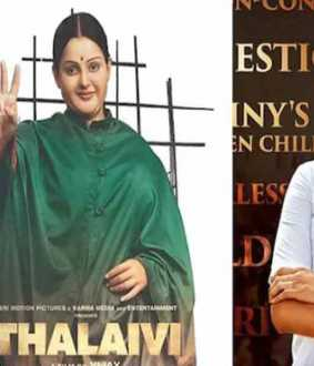 Case against 'Talaivi' movie ... J Deepa's petition dismissed!