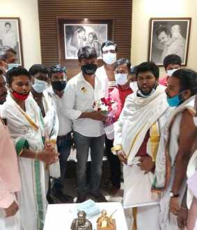 Request to Chief MK Stalin by students trained as priests