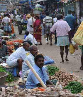 Trichy Gandhi Market to be relocated from tomorrow
