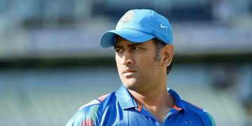dhoni is back on nets for practice